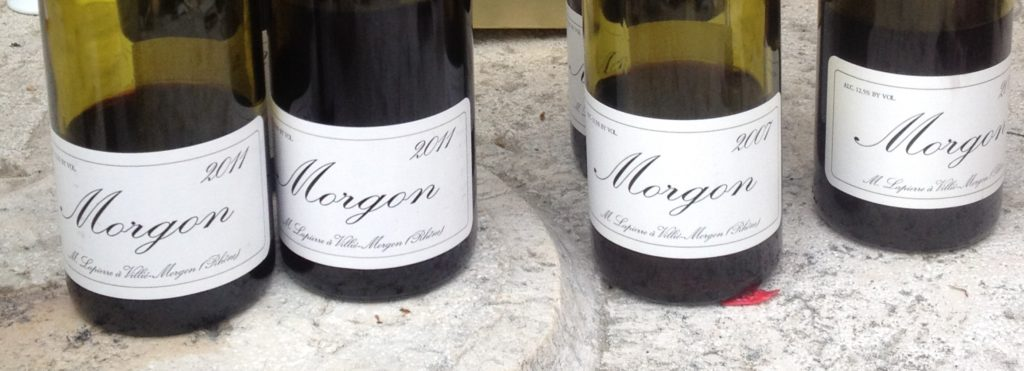 AOC Morgon Bottles Beaujolais