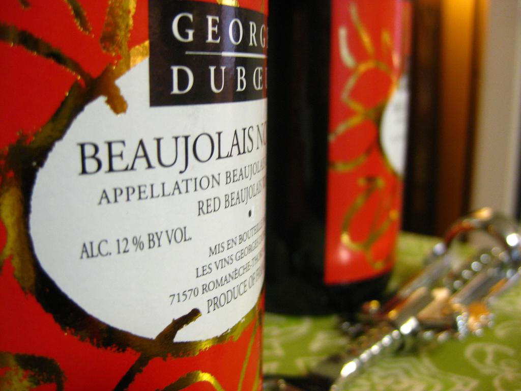 Beaujolais vino
